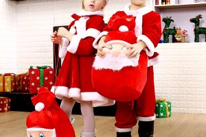 christmas children costume