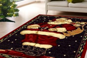 santa claus carpet