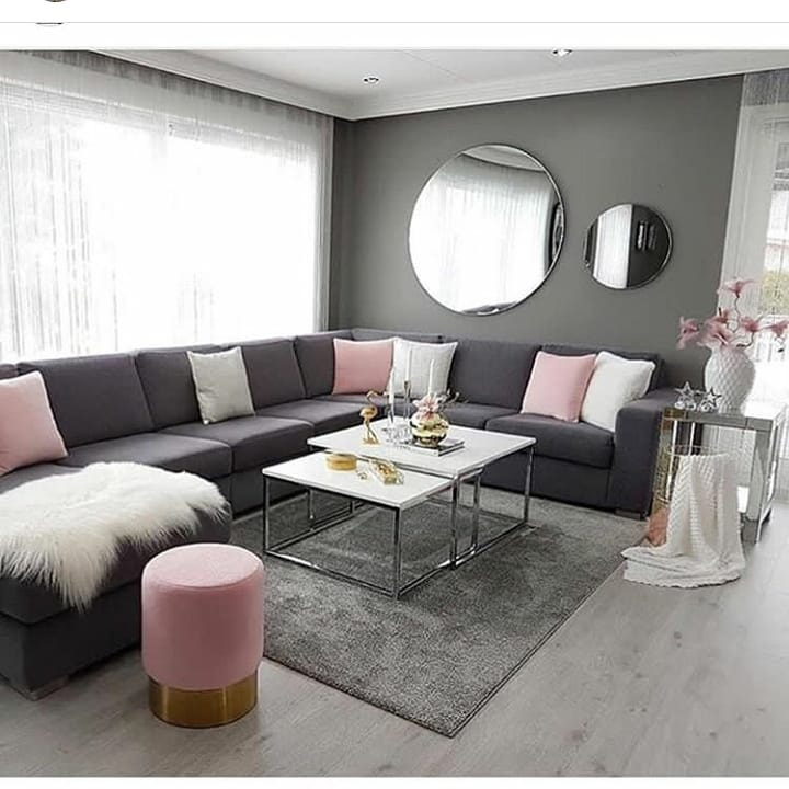 2019 Home Decoration Trends Luxury Modern Living Room (1)