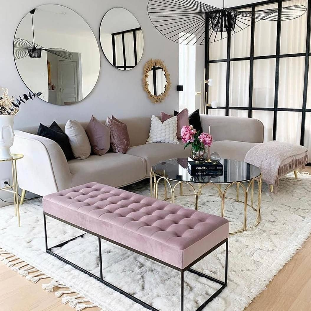 2019 Home Decoration Trends Luxury Modern Living Room (40)